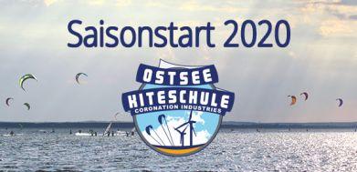 Saisonstart Ostsee Kiteschule 2020