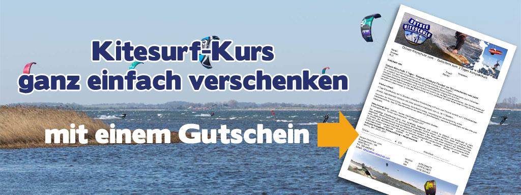 Kitekurs Geschenk-Gutschein