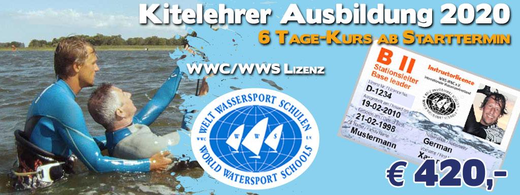 Kitelehrer-Lizenz / WWS - WWC