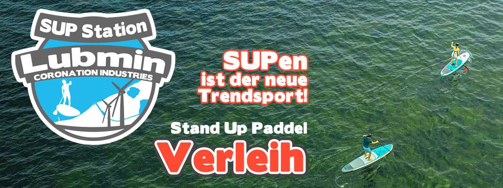 SUP Verleih Greifswald - Seebad Lubmin